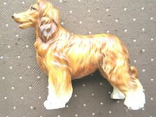 "Vintage Lefton Ceramic Afghan Hound, Dog # H 732P 5"" tall, very nice piece"