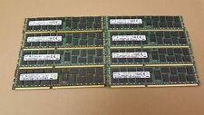 Server RAM 64GB 8 x 8GB PC3L-10600R 1333 ECC REG DDR3 240pin RDIMM Memory