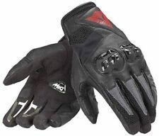 Dainese Mig C2 schwarz Motorradhandschuhe Sommerhandschuhe kurz luftig Leder