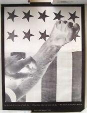 1968  Anti Heroin Poster by John Sagittarius, See the Breath of Love...