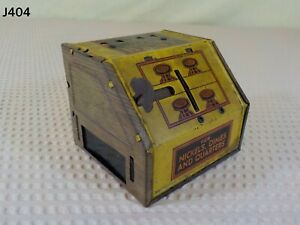 Vintage Mechanical B&R Tri Coin Register Bank Toy