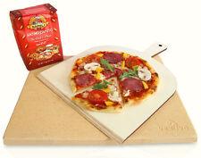 """Pizzastein / Brotbackstein Set """"Profi"""" - inkl. Zubehör"""
