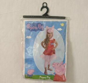 Peppa Pig Toddler Girls Halloween Costume Dress Size 3T-4T Palamon