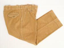 f1d7a30ff4 Willis & Geiger Mens Casual Pants 34x26 Solid Tan Crisscross Corduroy  Trousers