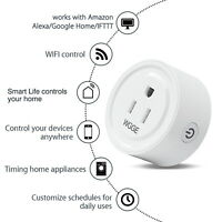 Smart Plug, Mini Smart WiFi Outlet Compatible with Alexa, Google Assistant 2/pk