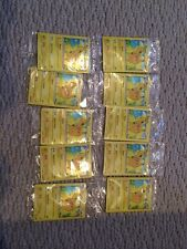 10 Basic Pokemon Promo Package Includes 2 Cards- Pikachu42/146 And Mystery Card