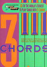 E-Z Play Today 27 - 60 SONGS WITH 3 CHORDS - Easy Keyboard Music Book EZ SFX