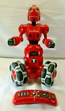 "WowWee Robotics Red Tribot Tri 15"" Interactive Talking Robot + Remote Control SN"