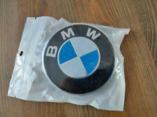 BMW Badge Alloy Wheel Adhesive Sticker Emblem 70mm 36136758569 UK STOCK