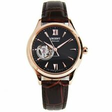 Orient RA-AG0023Y10B Automatic Semi-Skeleton Leather Strap Analog Ladies' Watch