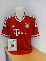 Bayern München Trikot 2013/2014, Teamsigniert, Fußball, Bundesliga, Autogramm, L