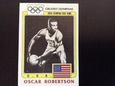 1983 Greatest Olympians Trading Card #63 Oscar Robertson