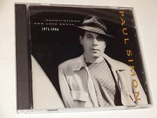CD Paul Simon: 1971-1986: Negotiations and Love Songs (1988 WB) Rock