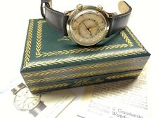 vintage lecoultre memovox 814 swiss made wristwatch with box and papers