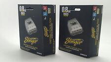 2 x Stinger 4 Gang 0/4/8 Gauge Power / Ground Amp Wire Distribution Blocks Shd21