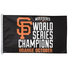San Francisco Giants 2014 World Series Champions 3'x5' Flag  IN STOCK!!