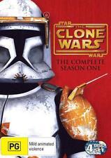 StarWars THE CLONE WARS Animated Series SEASON 1 : NEW DVD