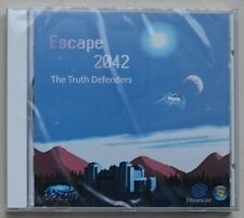 Escape 2042 Sega Dreamcast indie game region free NEW sealed