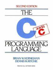 C Programming Language by Brian W. Kernighan 9780131103627 | Brand New