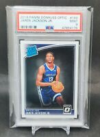 2018 Optic #188 Jaren Jackson Jr Memphis Grizzlies Rookie RC PSA 9 GEM 47654176