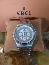 Ebel mens stainless steel watch