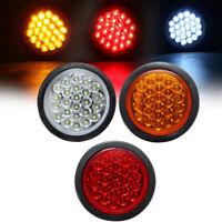 24V LED Round Reflector Rear Tail Brake Stop Marker Light Ute Car Truck Trailer