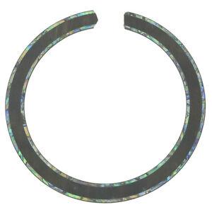 KAISH Guitar Soundhole Rosewood Rosette 2 Rings Full Abalone Inlay 110*13*0.8