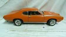 ERTL 1969 PONTIAC GTO THE JUDGE LIM ED RARE ORANGE 1:18 DIECAST MODEL CAR SH3C