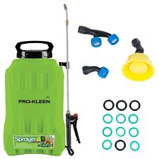 More details for garden pressure sprayer knapsack backpack cordless li-ion battery weedkiller 12l