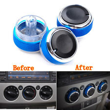 Blue Air Condition Panel Control Switch Knob Button for Ford Focus 05-14 Mondeo