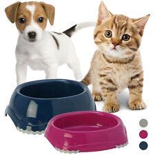 2 x Non Slip Bowls Pet Cat Kitten Feeder Food Drink Water Dish Puppy Dog Feeding