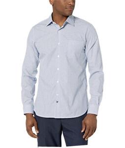 hickey Freeman diamond print long sleeve shirt 2xl