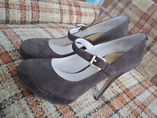 624590d7648 Michael Kors Womens 7.5M Brown Suede Mary Jane Heels (4.75