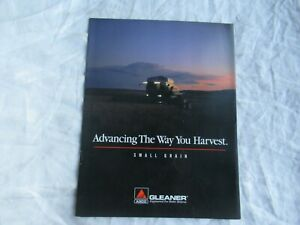 AGCO Allis-Chalmers R42 R52 R62 R72 Gleaner small grain combine brochure