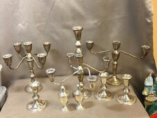 Collection of Duchin Creations Weighted Sterling Silver Candleholders