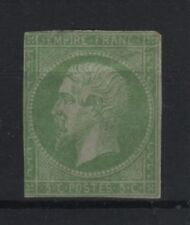 "FRANCE STAMP TIMBRE N° 12 "" NAPOLEON III 5c VERT 1854 "" NEUF (x) A VOIR   R809"