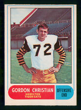 GORDON CHRISTIAN 1968 O-PEE-CHEE CFL 1968 NO 43 EXMINT+  26500