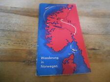Sach Reise Ernst Schwenk - Wanderung in Norwegen (48 s.) JÖRDENS & SCHWENK