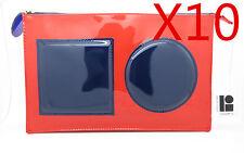 Lot of 10 Estee Lauder Lisa Perry Cosmetic Makeup PVC Bag Zipper Online Fall 15