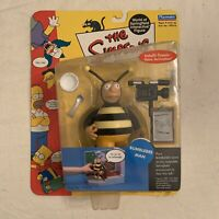 Playmates Toys Simpsons Series 5 Bumblebee Man Action Figure