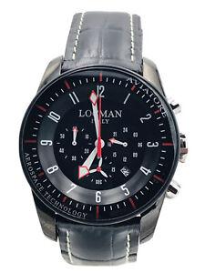 Orologio Locman Aviatore Titanio Crono 43mm 450kk/580 Scontatissimo Nuovo