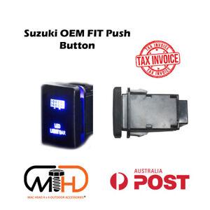 SUZUKI JIMNY 2019 2020 JB74 PUSH SWITCH LED Light Bar CAR BLUE