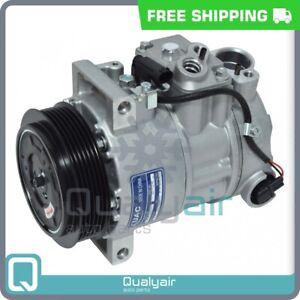 AC Compressor 6SEU16C fits Mercedes-Benz C250, C300, C350, C63 AMG, CLS550... QR