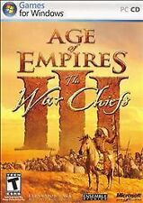 "Age of Empires III: The WarChiefs (PC, 2006) Games for Windows, Rated ""T"""