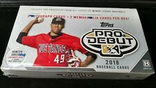 2018 Topps Pro Debut Minor League Baseball Cards Hobby Box - Factory Sealed