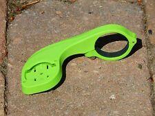 Davanti Staffa Di Montaggio Per Garmin Edge Cycle GPS modelli 20 - 820 Verde