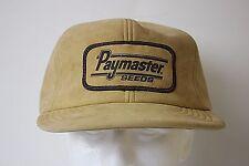Vintage Paymaster Seeds Hat Adjustable Cap USA