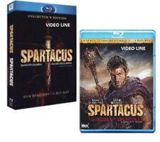 Blu Ray SPARTACUS: Gli Dei della Arena + Sangue E Sabbia + La guerra dei Dannati