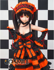 Date a Live Tokisaki Kurumi 1/3 DD Wig Dress Costume Clothes Clothing Cosplay DH