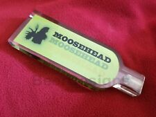 New listing New Moosehead lager lucite beer tap handle